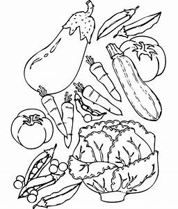 Vegetable Coloring Pages For Kids - AZ Coloring Pages