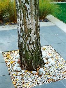 amenagement paysager avec de la pierre 13 idees inspirantes With decorer son jardin avec des galets 13 de la pierre reconstituee et du gravier pour une terrasse