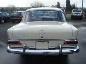 1968 Mercedes 200d Diesel 1 Owner 200