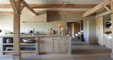 cuisine en bois de beaux modèles déco pour s inspirer
