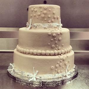 Basic Walmart Wedding Cake Design 3 Tier Champagne