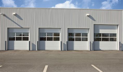 commercial garage door with door commercial garage doors lancaster door service llc