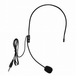 Mini Portable Headset Microphone Lightweight Condenser 3