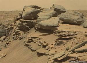 Curiosity Mars rover drills into base of Mount Sharp - BBC ...