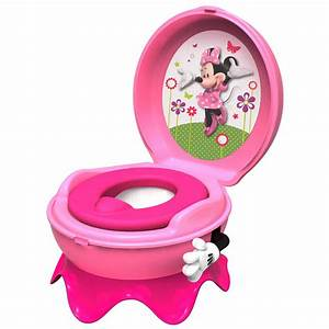 Minnie Mouse 3 in 1 Flushing Sounds Potty - Pink BIG W