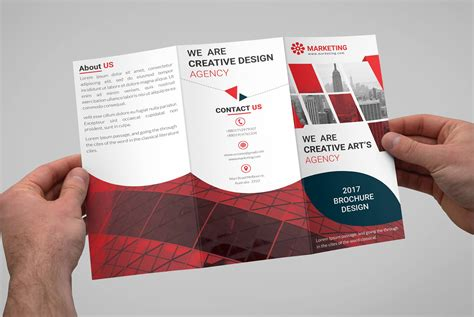 Free Trifold Brochure Templates  Download Free Psd