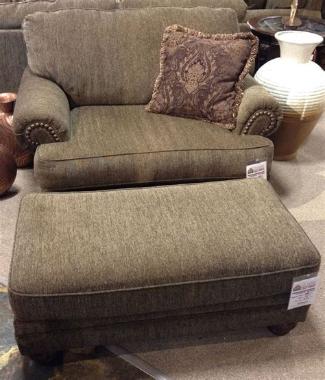 stafford antique chair  ottoman stylize  living