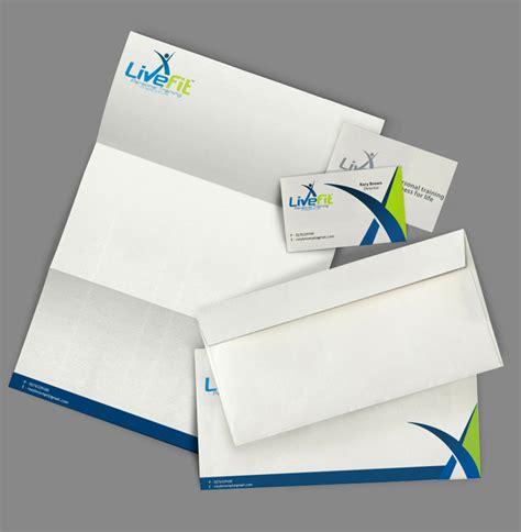 letterhead  envelope design  business branding