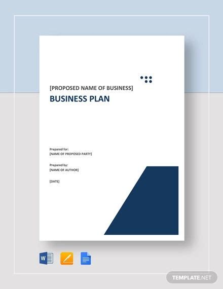 This book will guide you through the process of writing a business plan. Business Plan Template - 47+ Examples in Word   Free & Premium Templates