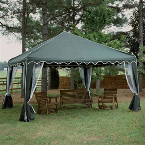 garden party canopy gazebo    green