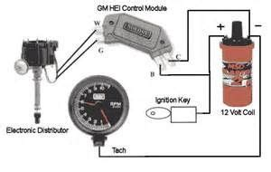 gm hei distributor and coil wiring diagram yahoo search results car truck bike tips chevy