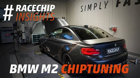 bmw m2 competition chip tuning to 502 hp dyno acceleration runs youtube