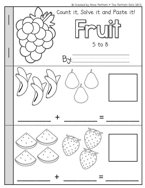 94 best images about vpk math on