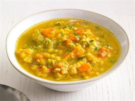 slow cooker sweet potato  lentil soup recipe food