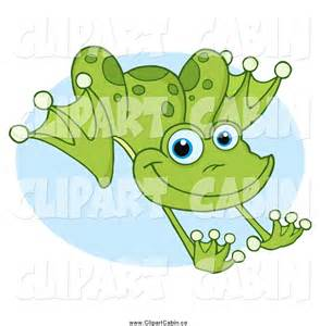 Leaping Frog Clip Art
