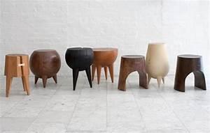 Tabouret Bois Design : tabourets design en bois ~ Teatrodelosmanantiales.com Idées de Décoration