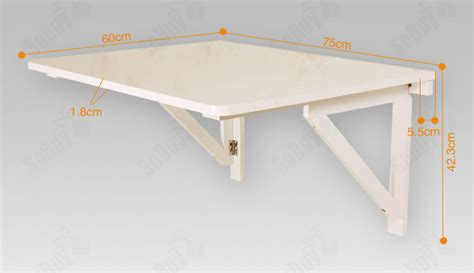 wall mounted drop down desk sobuy wall mounted drop leaf table folding wood table