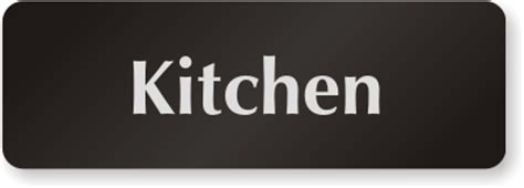 Keep Kitchen Clean Signs   Kitchen Courtesy Signs