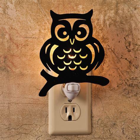 owl nightlight contemporary night lights by oriental