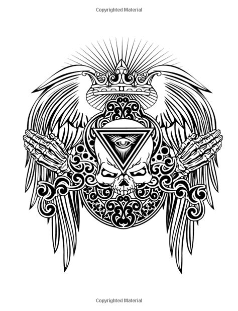 Tattoo Symbols and What They Mean | Tattoo coloring book
