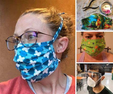 diy face mask projects instructables