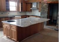 granite kitchen countertops White Ice Granite