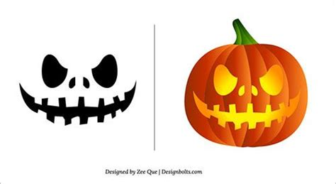 great idea simple cool looking stencil for a pumpkin