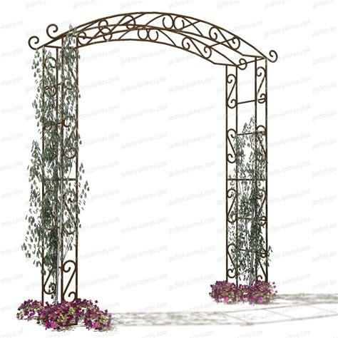 arche de jardin pour plantes grimpantes arche de jardin pagode arches kiosque et marquise