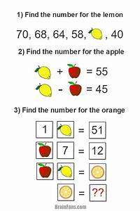 Brain Teaser - Picture Logic Puzzle