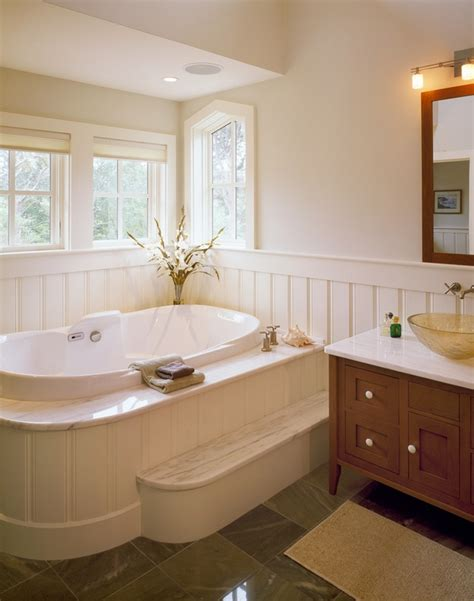 bathroom ideas with wainscoting bathroom wainscoting the finishing touch to your