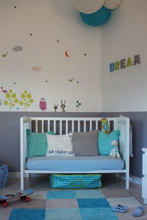 chambre bébé bleu turquoise best chambre bleu turquoise et jaune photos design