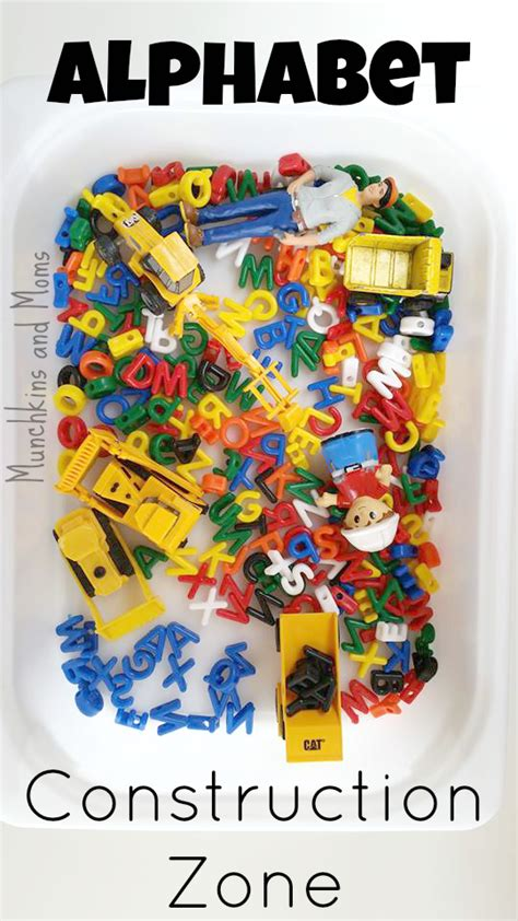 alphabet construction zone munchkins and 719 | A Alphabet Construction Zone