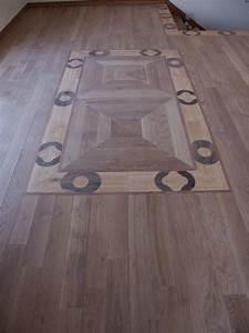 un decor de parquet original sur mesure parquet With tapis sur parquet