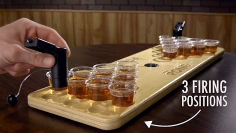 Mini Beer Pong: Take the party on the road.
