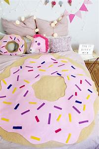 Teenager Zimmer Deko Selber Machen : diy donut decke ohne n hen tumblr zimmer deko selber machen felt pinterest diy diy ~ Eleganceandgraceweddings.com Haus und Dekorationen