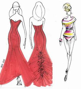 Barbie Fashion Illustrations for NY Fashion Show | Trendland