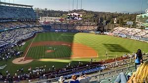Seating Chart Dodger Stadium Rows Dodger Stadium Infield Reserve 10 Rateyourseats Com
