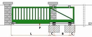 Portail Coulissant Sur Rail : fabrication portail usinages ~ Edinachiropracticcenter.com Idées de Décoration