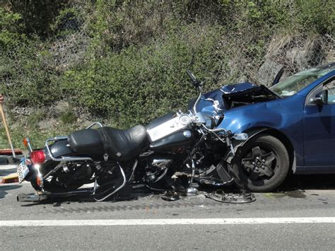 car accidents compare  motorcycle accidents adam  kutner