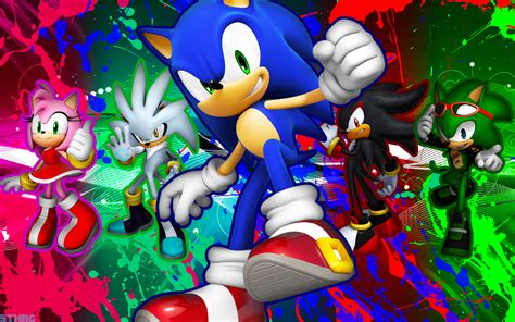 Sonic and Shadow Silver Scourge