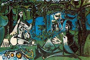Luncheon on the grass - Pablo Picasso - WikiArt.org ...