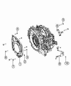 2014 Dodge Dart Bracket  Transmission Wiring Support