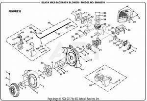 Homelite Bm08570 Backpack Blower Parts Diagram For Figure B