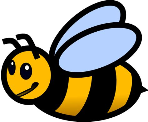 Clipart Bee Small Bee Clip At Clker Vector Clip