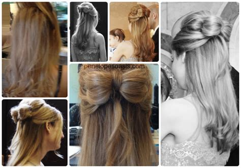 hairstyle tutorial how to make a hair bow beauty