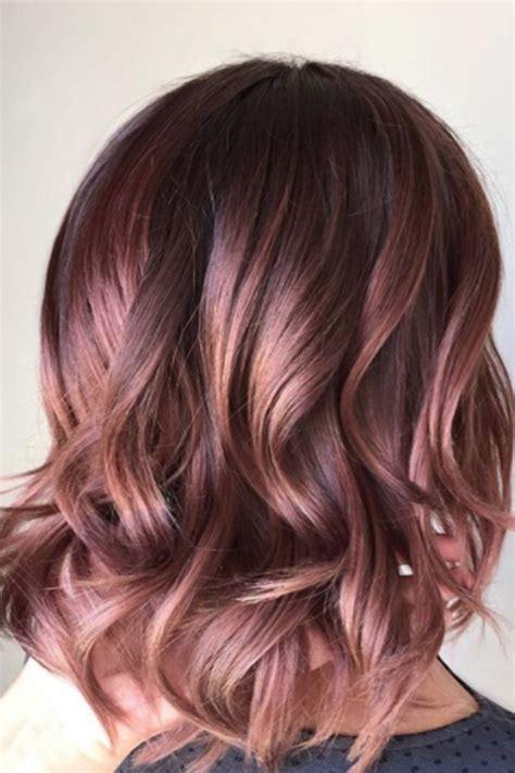 Les couleurs cheveux les plus tendance u00e0 adopter pour lu0026#39;automne-hiver 2018/2019   Coiffure ...