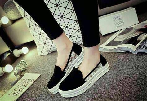 jual sepatu flat flat shoes korea sepatu kets remaja trendy di lapak mukena azqa jualgamismukena