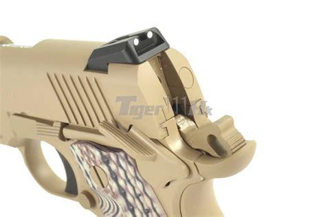 tokyo marui usmc m45a1 cqbp gbb pistol tan airsoft
