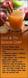 Apple Cider Vinegar has many uses including this cold and ...