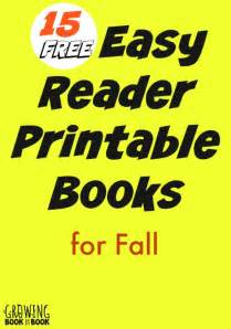 Free Printable Easy Reader Books